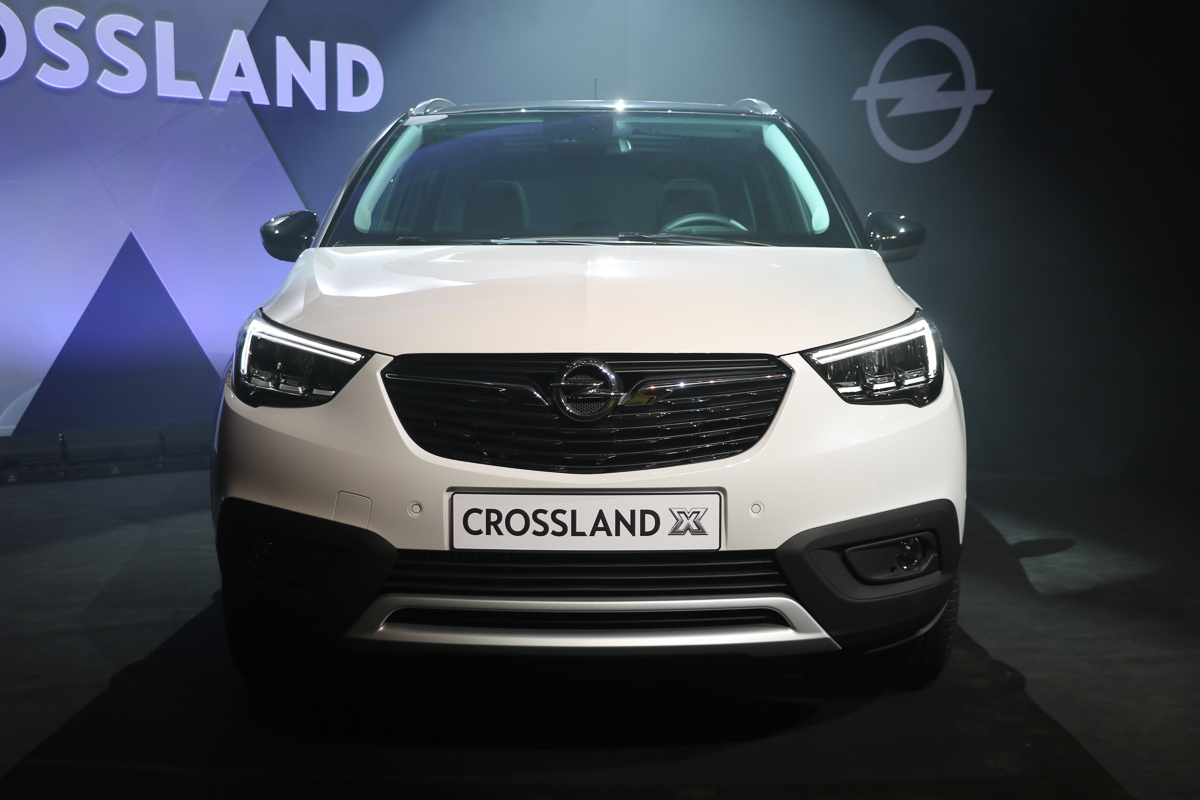 genf 2017 opel crossland x der franz sische opel. Black Bedroom Furniture Sets. Home Design Ideas