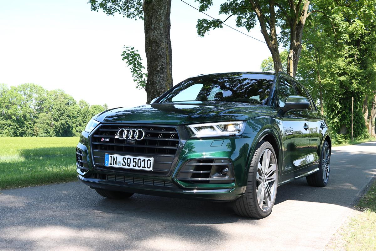 2017 Audi SQ5 - Mit 3.0 Liter V6 TFSI Benziner - dafür ohne Endrohre