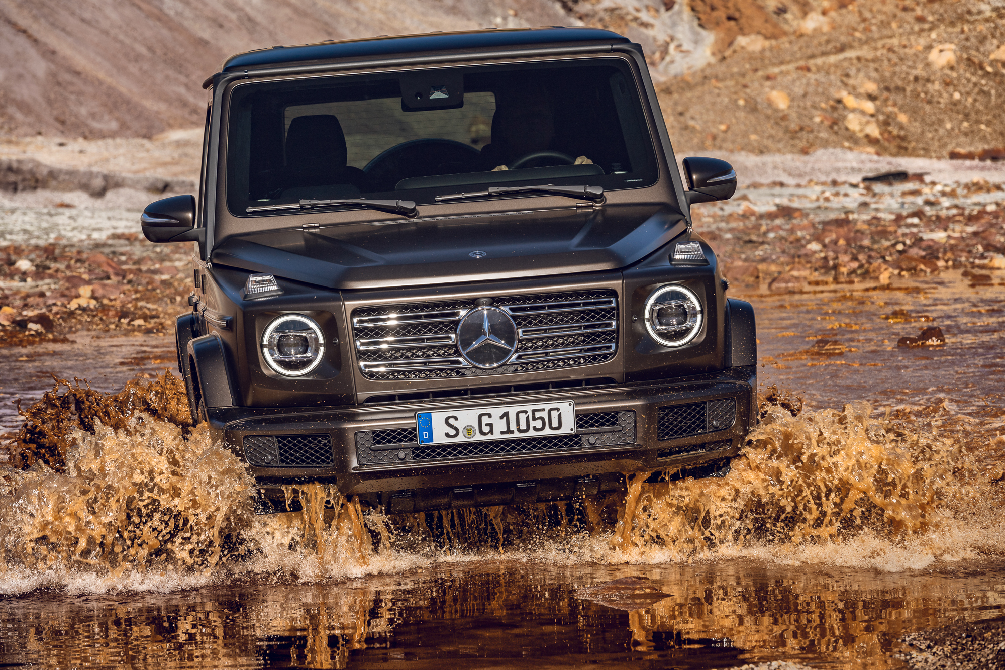 2018 mercedes benz g klasse g 500 die neue g klasse. Black Bedroom Furniture Sets. Home Design Ideas