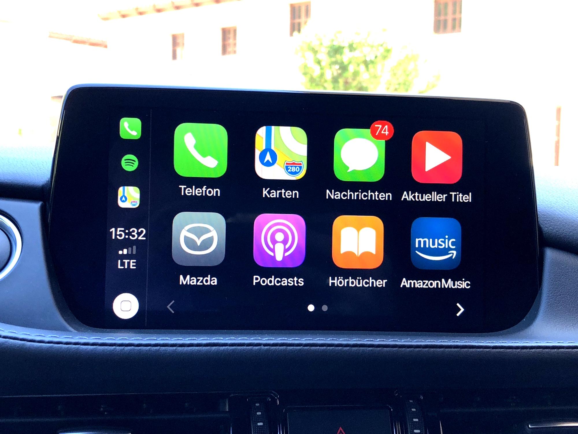 Mazda Mzd Connect Apple Carplay >> Apple CarPlay nachrüsten : Mazda macht es möglich!
