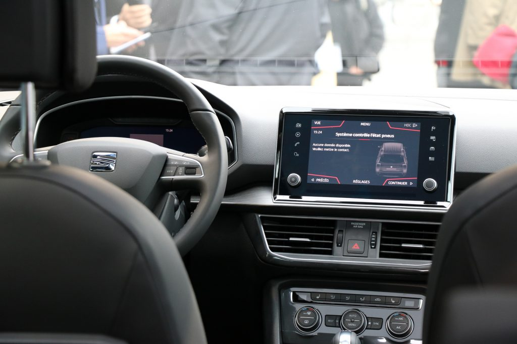 "SEAT Tarraco - Aufgesetzes 8"" Infotainment-System - Touchscreen"