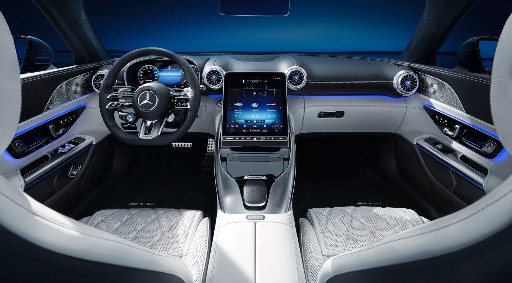 Das exklusive Interieur des neuen Mercedes-Benz SL