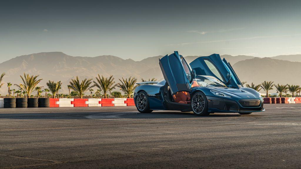 Das schnellste Serienfahrzeug derzeit: Rimac Nevera!