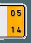 Kurzzeit Kennzeichen gelb