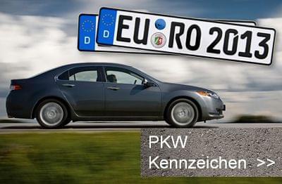 Amtliches Euro-Kennzeichen