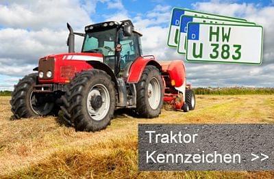 Traktorkennzeichen