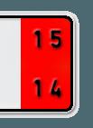 Zoll Kennzeichen rot