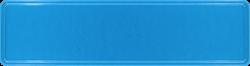 Namensschild stahlblau 340x90mm thumb