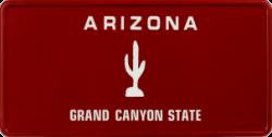 Funschild-USA Arizona 303x153mm thumb