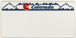 Funschild-USA Colorado 303x153mm thumb