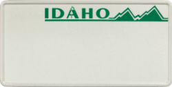 Funschild-USA Idaho 303x153mm thumb