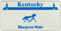 Funschild-USA Kentucky 303x153mm thumb
