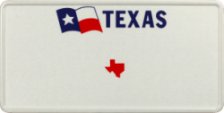 Funschild-USA Texas 303x153mm thumb