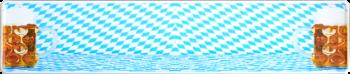Funschild Biergarten 520x110mm thumb