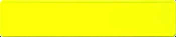 Funschild NEON Gelb 520x110mm thumb