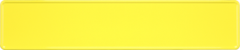 Funschild gelb 520x110mm thumb