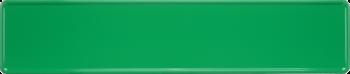 Funschild hellgrün 520x110mm thumb