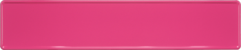 Funschild pink 520x110mm thumb
