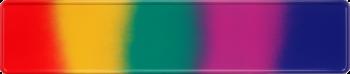 Funschild Regenbogen 520x110mm thumb