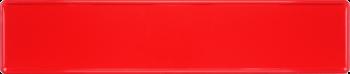 Funschild rot 520x110mm thumb