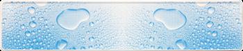 Funschild Wassertropfen 520x110mm thumb