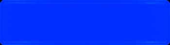 Namensschild blau 340x90mm thumb
