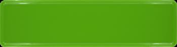 Namensschild forstgrün 340x90mm thumb