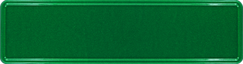 Namensschild grün glitzer 340x90mm thumb