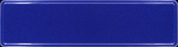 Namensschild navyblau 340x90mm thumb