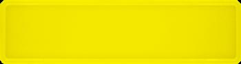 Namensschild neongelb 340x90mm thumb