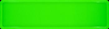 Namensschild neongrün 340x90mm thumb