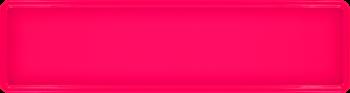 Namensschild neonpink 340x90mm thumb