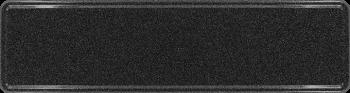 Namensschild schwarz glitzer 340x90mm thumb
