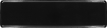 Namensschild schwarz 340x90mm thumb