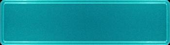 Namensschild türkis glitzer 340x90mm thumb