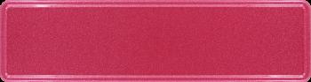 Namensschild violettrot 340x90mm thumb
