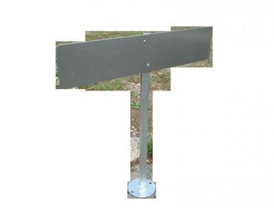 Vorschaubild für Aufstellpfosten für Parkplatzschilder