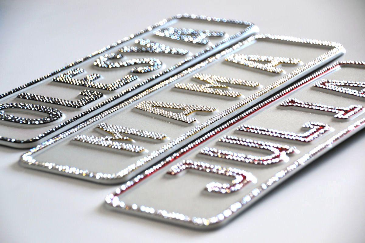 Vorschaubild für Namensschild Crystal-Edition