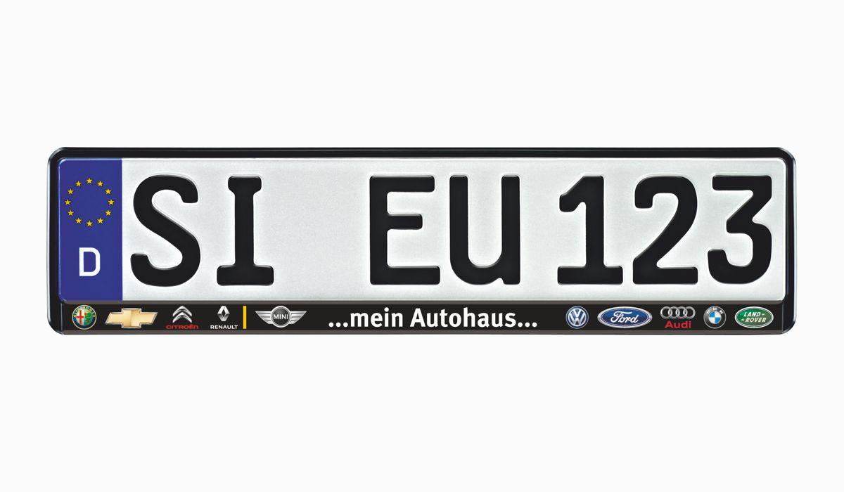 """Kennzeichenhalter EUROSTAR """"Colorline"""" Vorschaubild2"""