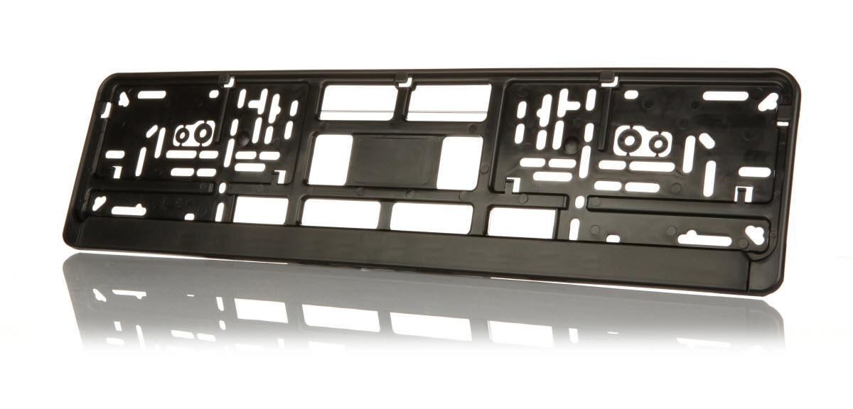 Kennzeichenhalter schwarz - Saturn Vorschaubild3