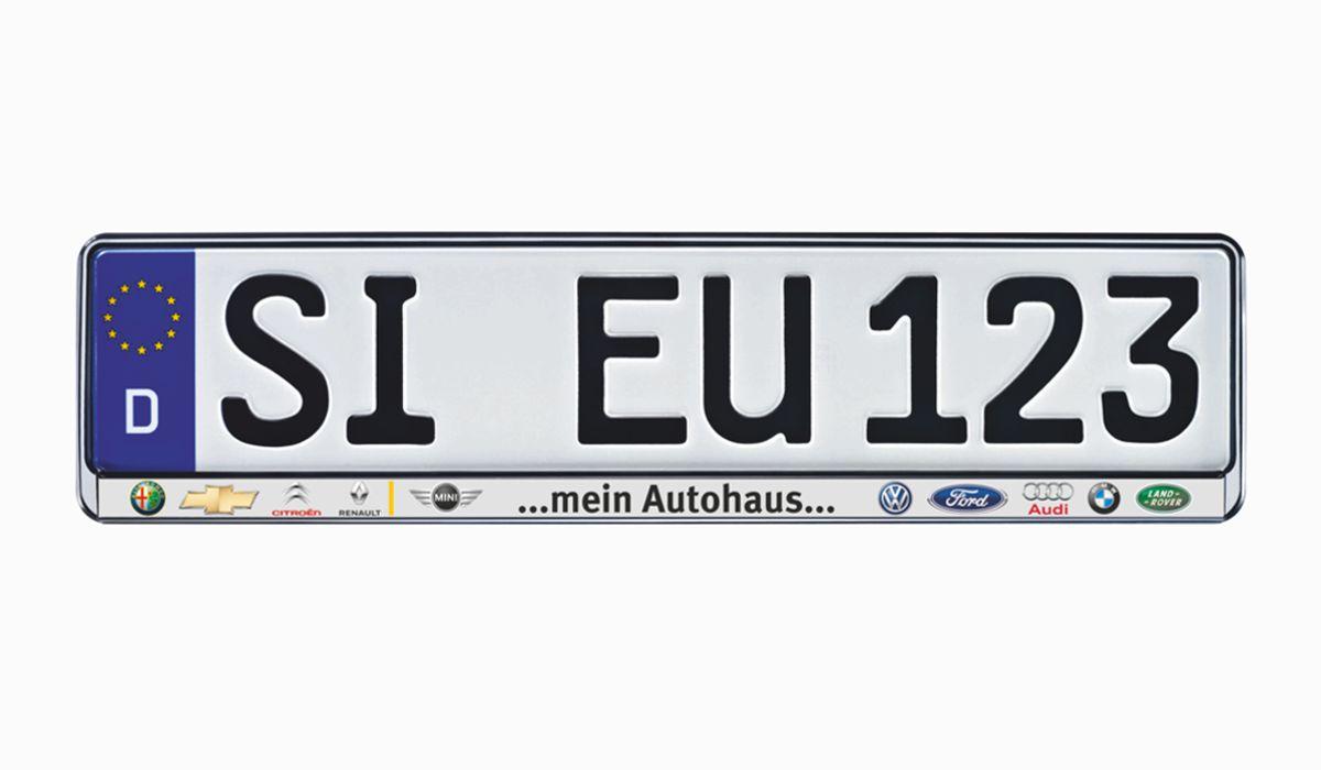 """Kennzeichenhalter EUROSTAR """"Colorline"""" Vorschaubild4"""